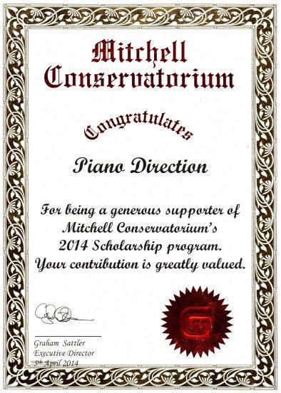 Mitchell Conservatorium Scholarship Recognition 2014 394x552 1