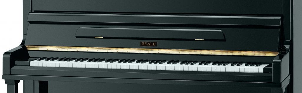 beale upright piano direction